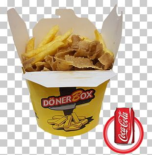 French Fries Vegetarian Cuisine Doner Box Kebab Food PNG