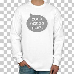 Long-sleeved T-shirt Long-sleeved T-shirt Printed T-shirt Hanes PNG