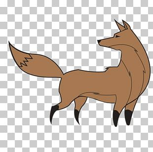Red Fox Graphics Silhouette PNG