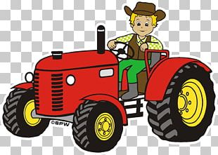 Tractor Agriculture Agricultural Machinery Agricultural Engineering Sticker PNG