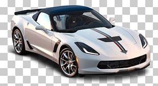 White Corvette PNG