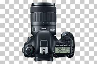 Canon EOS 7D Canon EF-S 18–135mm Lens Canon W-E1 Wi-Fi Adapter Digital SLR PNG