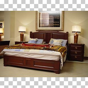 Bed Frame Table Bedroom Mattress Furniture PNG