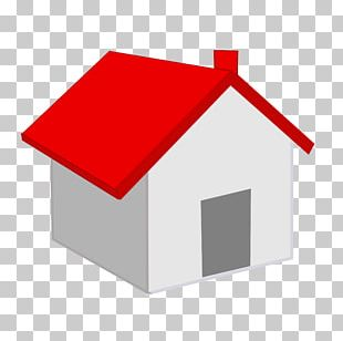 Red Roof Home Icon PNG
