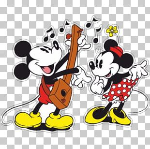 Mickey Mouse Minnie Mouse Epic Mickey Animated Cartoon Animation PNG