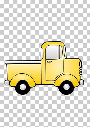 Pickup Truck Car Van PNG