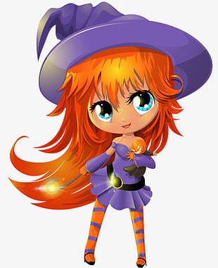 Halloween Little Witch PNG