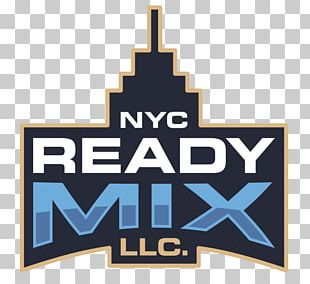 NYC READY MIX Logo Design M Group Brand Product PNG