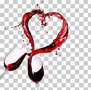Wine Tasting Valentines Day Winery Wine Glass PNG
