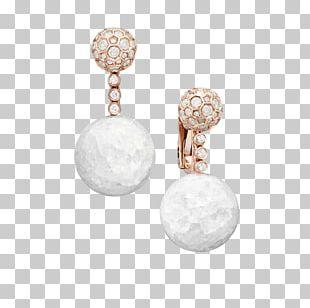 Earring De Grisogono Jewellery Gemstone Gold PNG