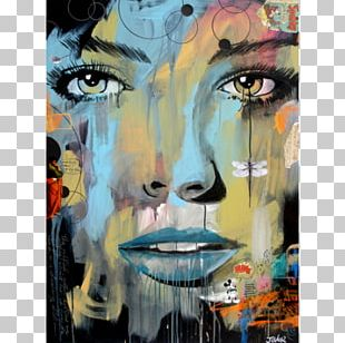 Modern Art Acrylic Paint Watercolor Painting Artist PNG