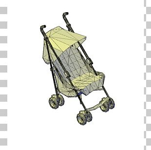 Baby Transport Computer-aided Design .dwg AutoCAD 3D Modeling PNG