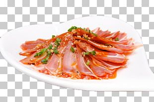 Carpaccio Pigs Ear Domestic Pig Red Cooking Chili Oil PNG