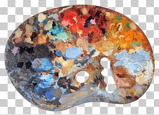 Used Artists Palette PNG