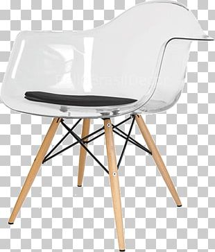 Eames Lounge Chair Table Furniture Wing Chair PNG