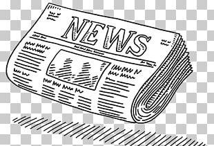 Drawing Newspaper Journalism PNG