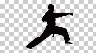 Martial Arts Karate Silhouette PNG