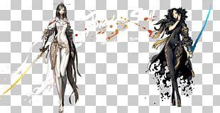 Blade & Soul Anime Video Game Art Desktop PNG
