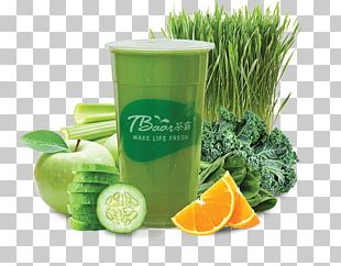 Health Shake Food Wheatgrass Herb Lime PNG