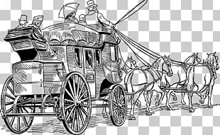Horse-drawn Vehicle Carriage Stagecoach PNG