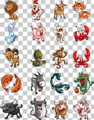 Cartoon Animal Illustration PNG