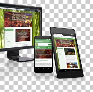 Smartphone Responsive Web Design Mobile Web PNG