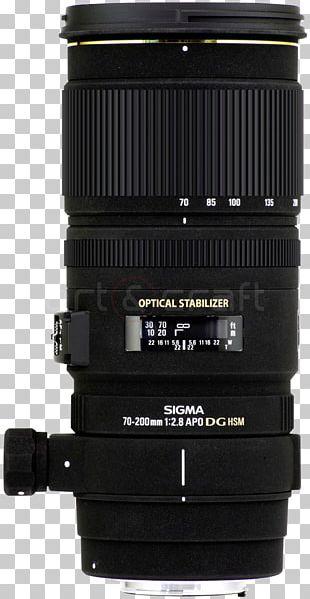 Canon EF Lens Mount Sigma 70-200mm F/2.8 EX DG OS HSM Lens Camera Lens Sigma Corporation Aperture PNG