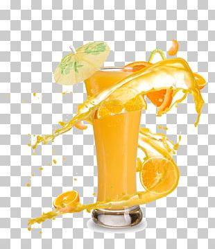 Orange Juice Smoothie Cocktail Soft Drink PNG