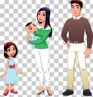 Mother Cartoon Father Illustration PNG