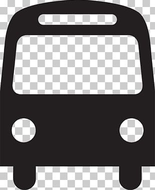 Public Transport Bus Service Symbol PNG