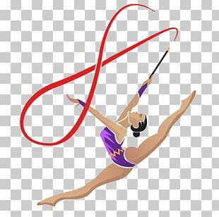 Ribbon Gymnastics Sport PNG