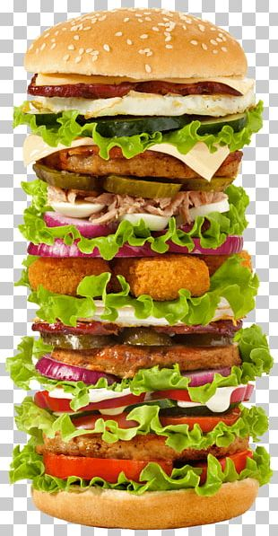 Cheeseburger Hamburger Whopper Fast Food Ham And Cheese Sandwich PNG