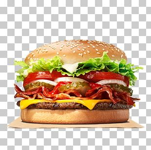 Whopper Hamburger Bacon Cheeseburger Burger King Specialty Sandwiches PNG