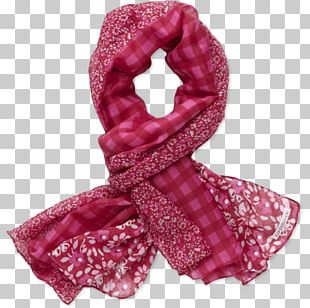 Hair Tie Pink M Scarf Stole PNG