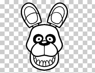 Five Nights At Freddy's 2 Bonnie Coloring Drawing Five Nights At Freddy's 4 PNG
