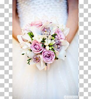 Rose Flower Bouquet Bride Wedding Floral Design PNG