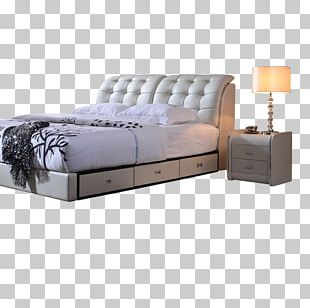Bed Frame Furniture Mattress Bedroom PNG