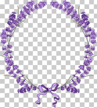 English Lavender Borders And Frames Flower PNG