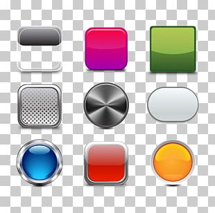 Metal Push-button Icon PNG
