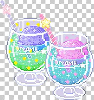 Pixel Art Drawing Fizzy Drinks Kavaii PNG