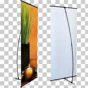 Web Banner Digital Marketing Printing Display Stand PNG