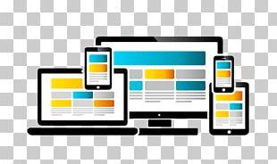 Responsive Web Design Digital Marketing Mobile Phones PNG