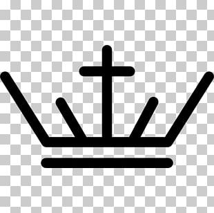 Cross And Crown Logo Coroa Real PNG