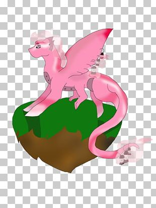 Animal Pink M Figurine PNG