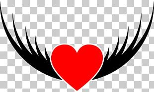 Heart Drawing Bird PNG