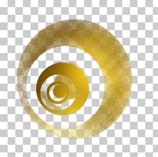 Geometry Circle Ribbon PNG