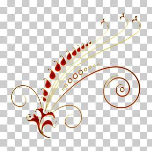 Floral Ornament Art Stencil PNG