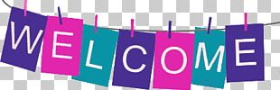 Welcome Banner PNG