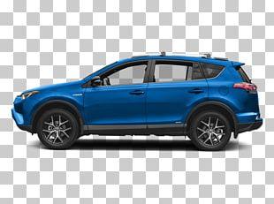2018 Toyota RAV4 Hybrid SE SUV Sport Utility Vehicle Car Hybrid Vehicle PNG