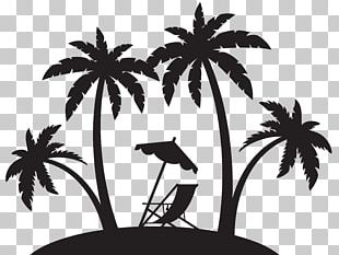 Shore Beach Silhouette PNG